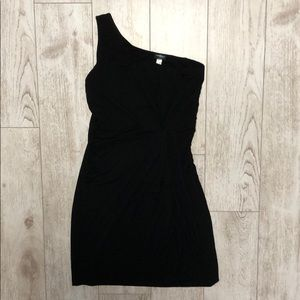 Cosabella italy one shoulder gathered ruched dress